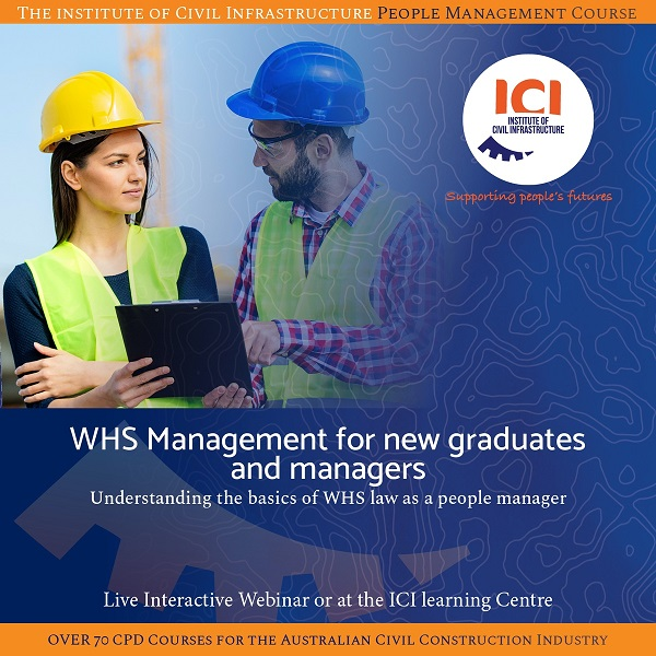 WHS Management for new graduates and managers - Understanding the basics