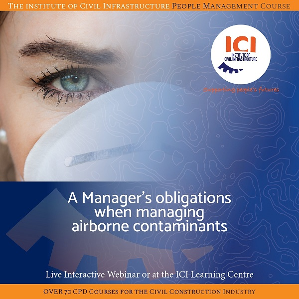 A Manager's obligations when managing airborne contaminants